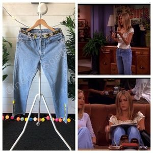 VTG 90s ASO Rachel Friends Levis High Waisted Jean